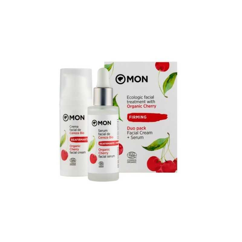 Facial Treatment With Ecological Organic Cherry Mon Deconatur